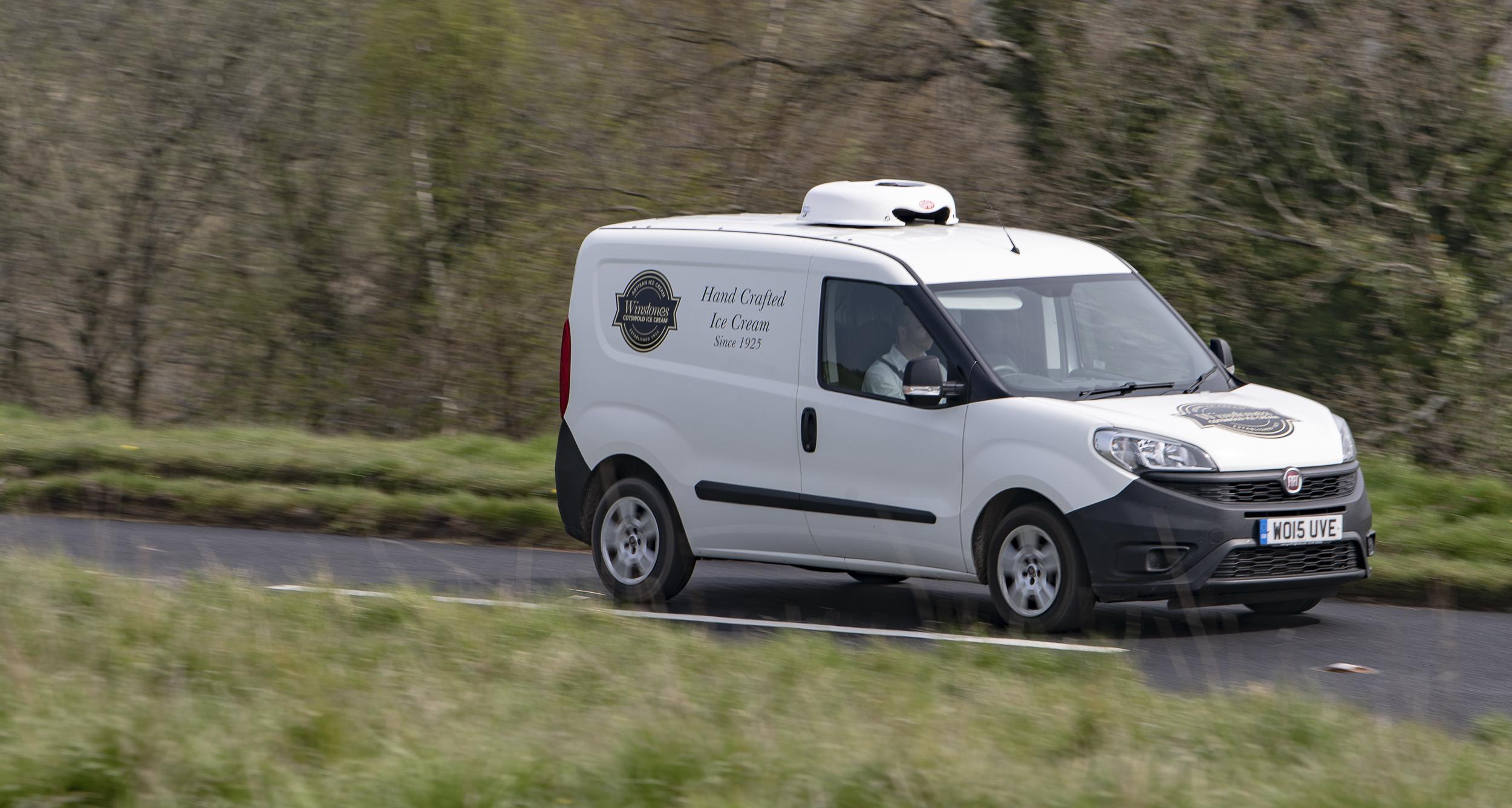 Winstones ice cream delivery van